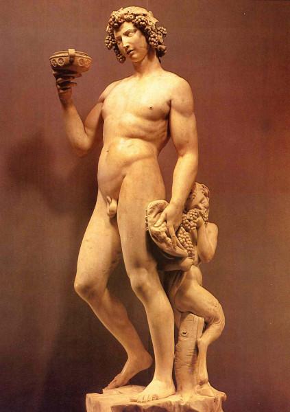 Микеланджело вакх фото