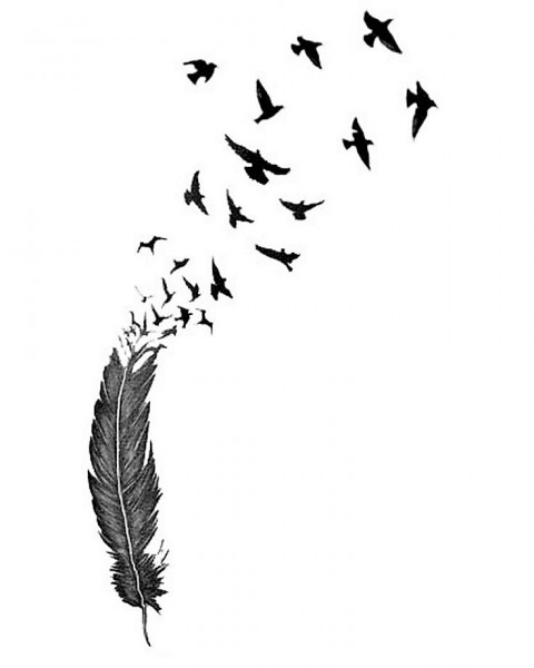 85d6956190101e63b00ac27da346a4fe--birds-flying-tattoo-feather-bird-tattoos