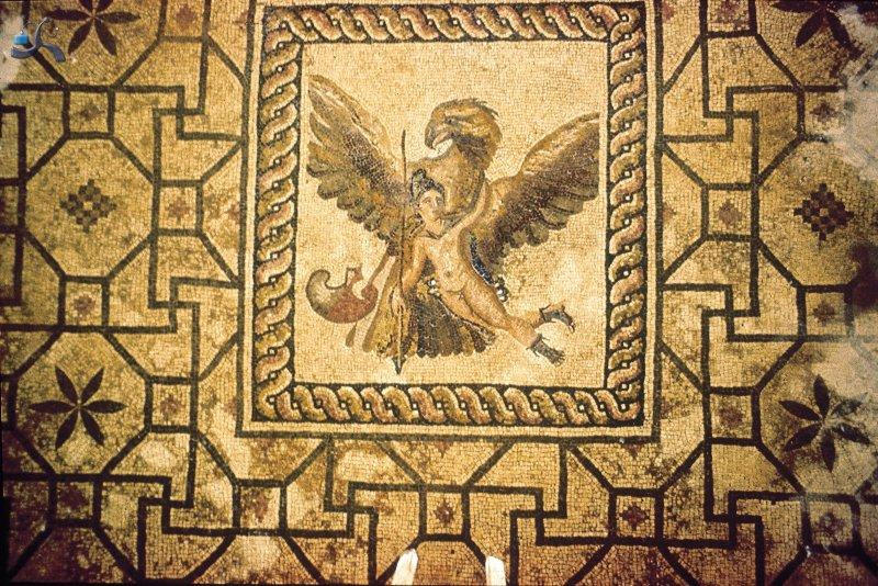 dionisio_mosaik_03_ganamedes_and_eagle