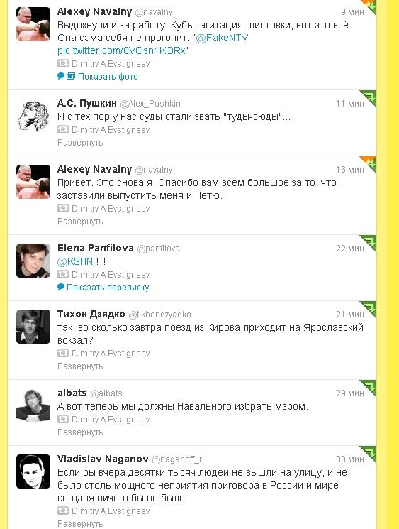 twit navalny