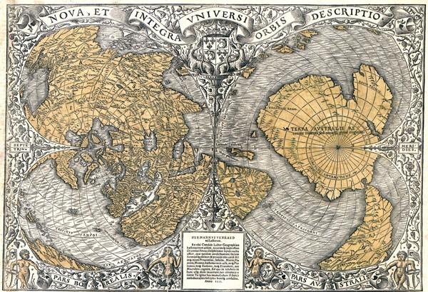 Карта Оронтеуса Финиуса 1531 года (1)