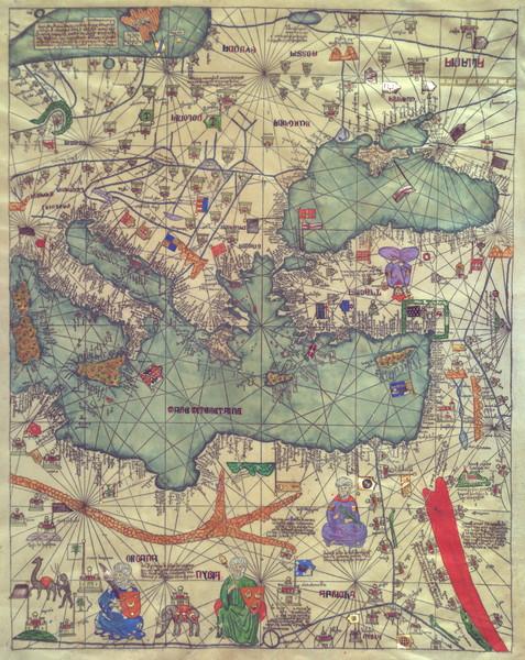Catalan Atlas 1375 Panel4 Eastern Europe (1)