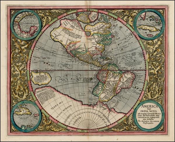 MERCATOR Gerard — America sive India Nova ad magnae Gerardi Mercatoris avi universalis imitationem incompendium redacta, 1613 (1)