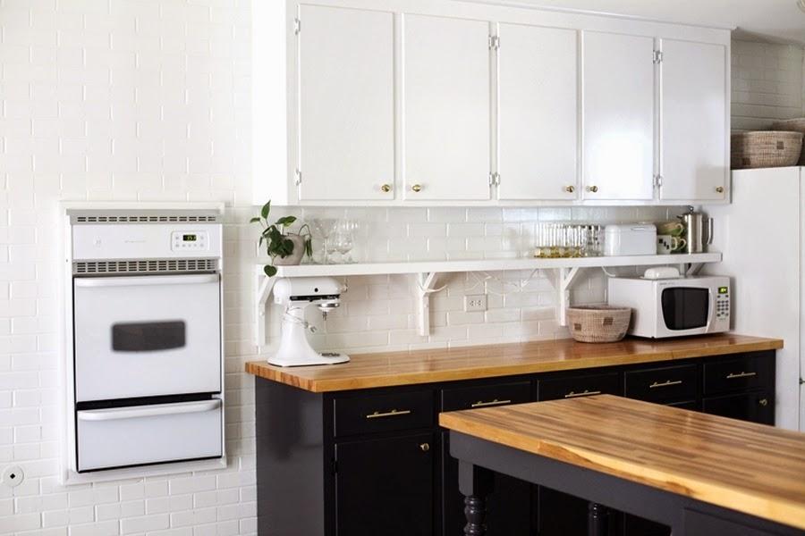 Black & white - metamorfoza kuchni 6