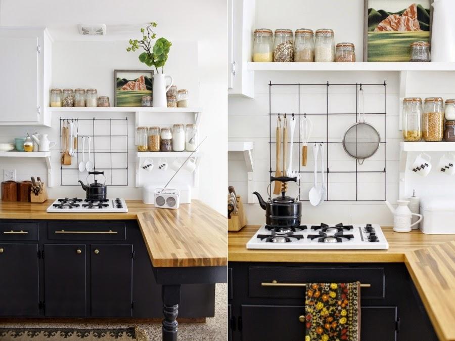 Black & white - metamorfoza kuchni 7