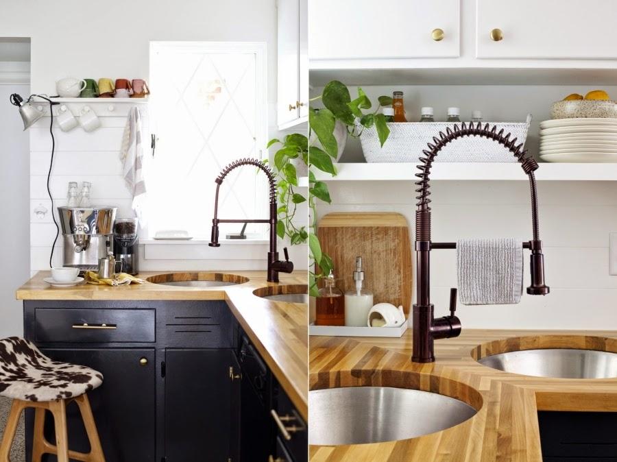 Black & white - metamorfoza kuchni 8