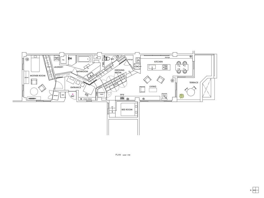 Casa-cabina-armadio-in-Jiyugaoka-by-AirHouse-Design-Office-ddarcart-14