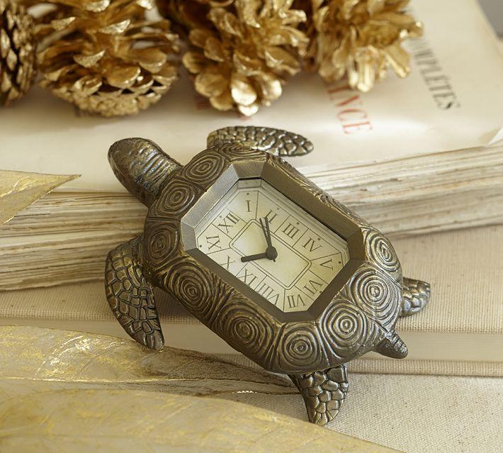 clock turtle