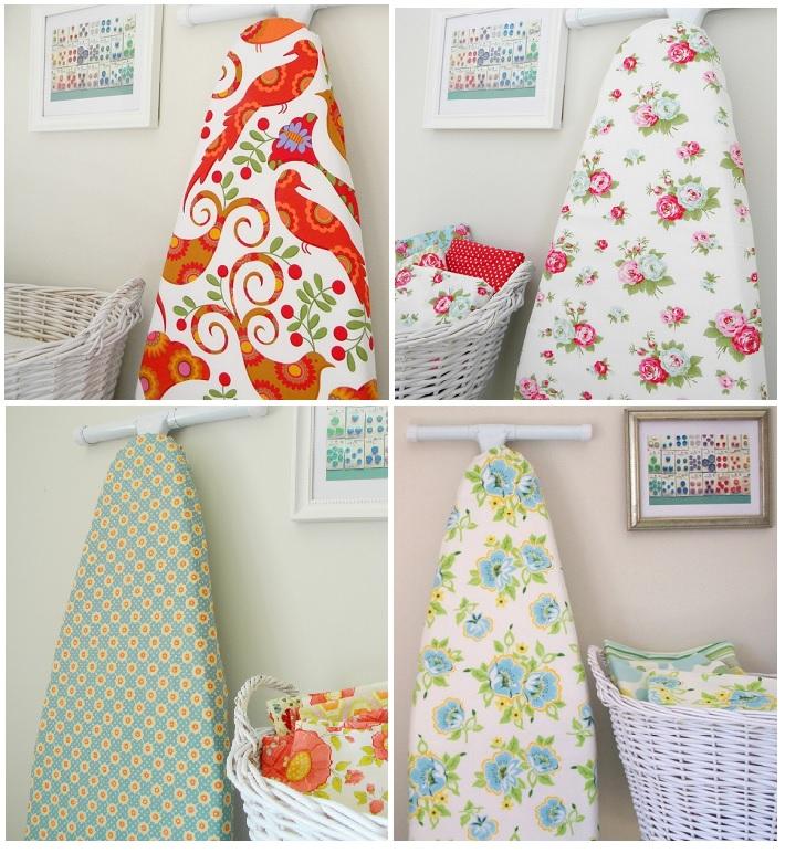 разноцветные гладильные доски