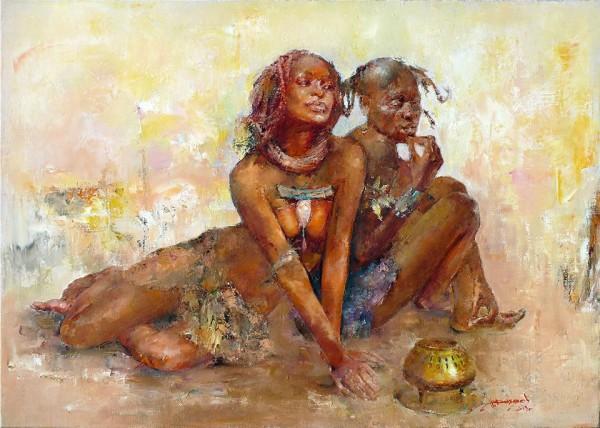 Гадалка племени Химба
