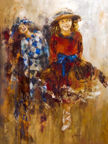 Пуанты балерины., 80х60. Х-м. 2011