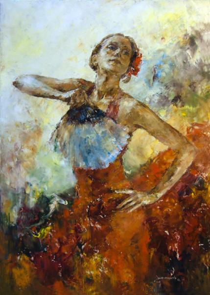 Фламенко. 70х50 см. 2012