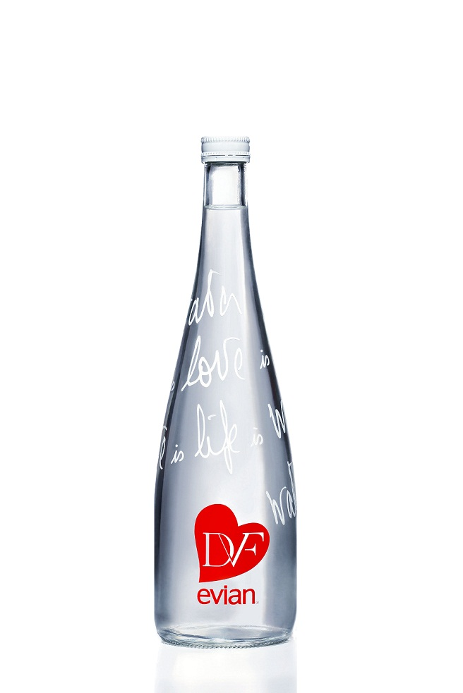 Evian Limited Edition 2013 bottle