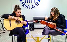 Нанесение логотипа в музыкальной школе