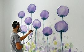 Роспись в детских комнатах