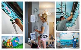 Преимущества заказа росписи стен в студии Art plane