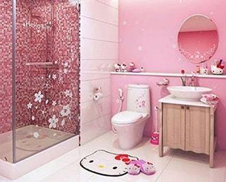 Идеи стильного дизайна детской ванной комнаты