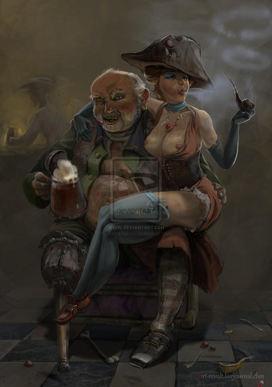 шлюха пират