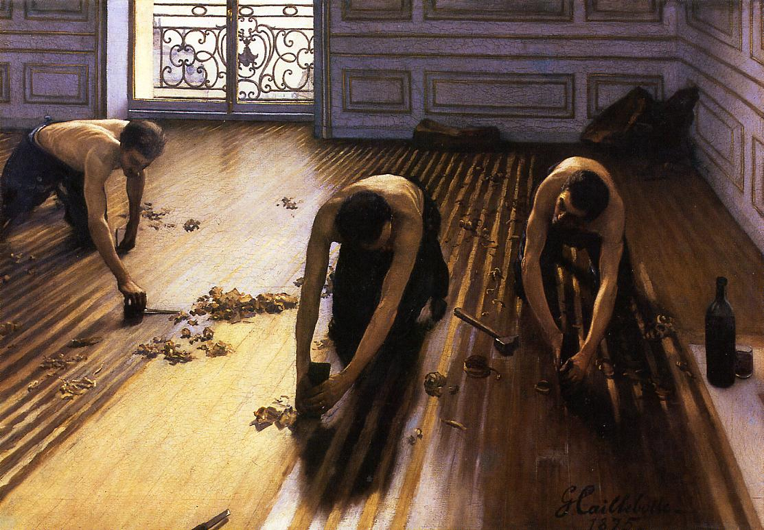 The Floor Scrapers (also known as The Floor Strippers)  -  1875