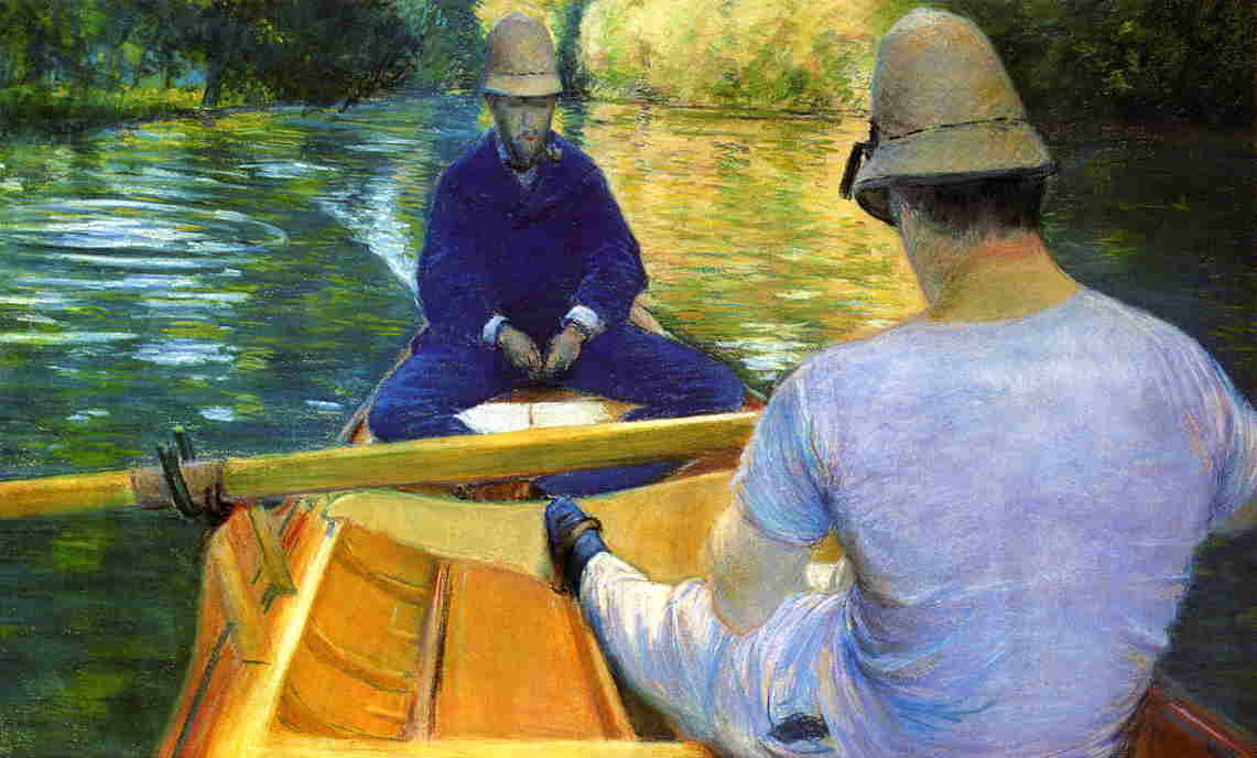 Boaters on the Yerres  -  1877