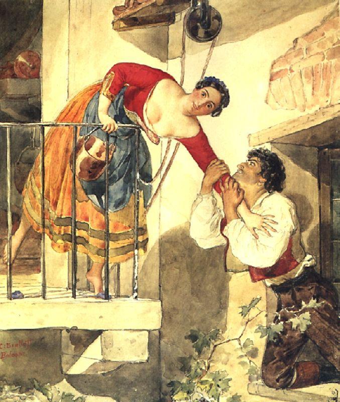 Прерванное свидание. 1820-е