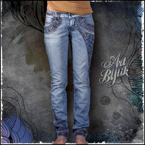 Рисунки на джинсах белизной своими руками - Твой рабочий стол