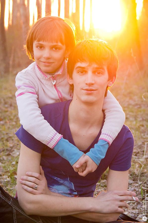 Женя и Олеся