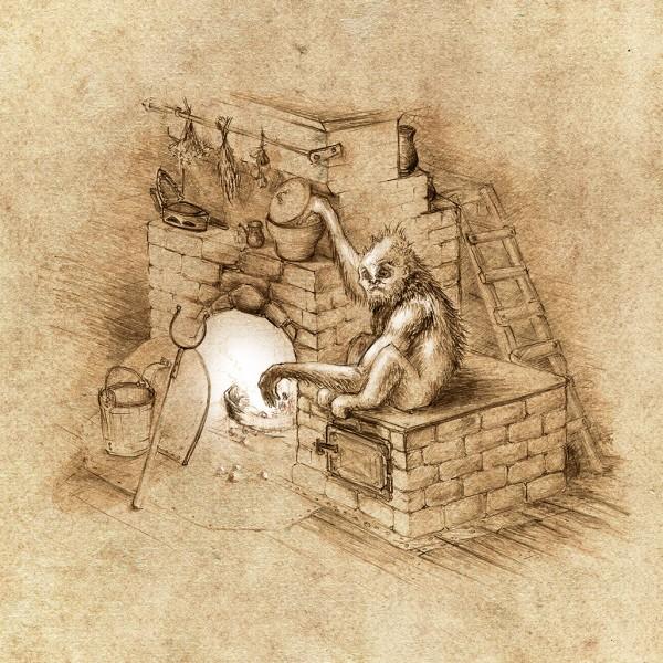 Огневик. Рисунок Евения Кота
