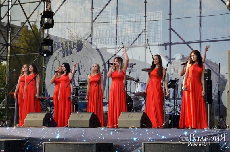 На праздновании дня города (с) фото Валерия Романова
