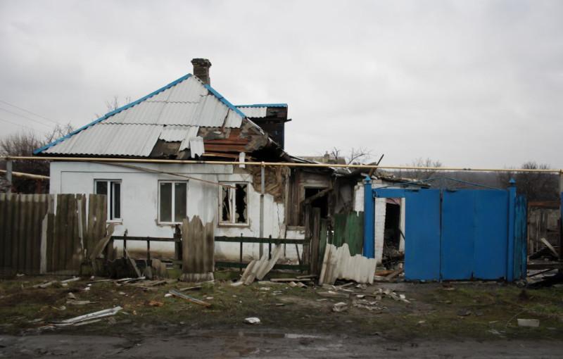 Последствия обстрела Макеевки (с) фото автора