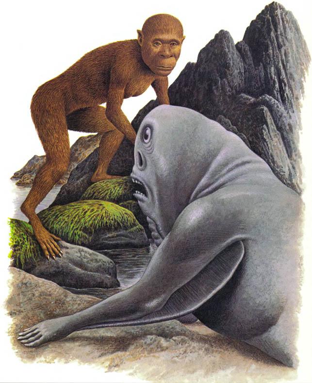 Лесовик и акваморф