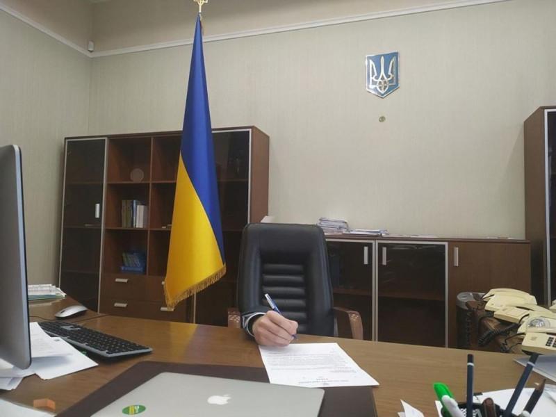 Фото из кабинета украинского министра юстиции. Наглядно подтверждение тому, что министр - пустота.