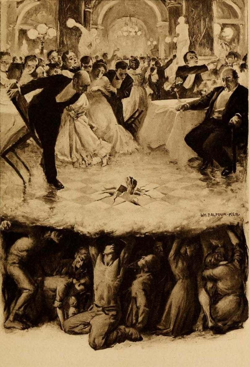 """Уильям Бальфур Кер, """"Из глубины"""", 1906 год."""