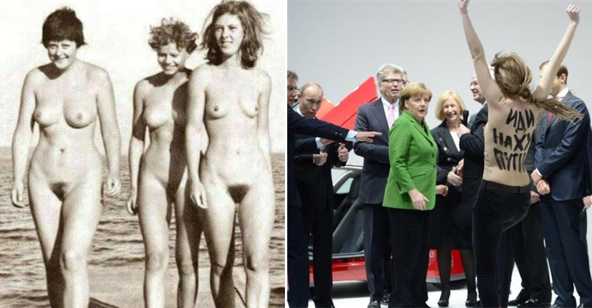 голые женщины политики по юбкой
