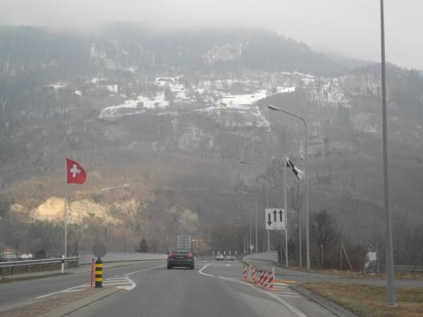 Лихтенштейн_граница