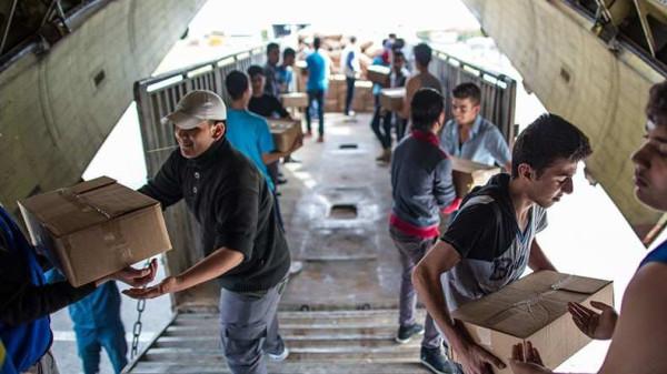 Очередная гуманитарная помощь Сирии