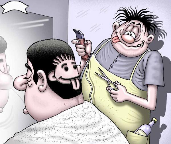 Прикольные картинки парикмахеров
