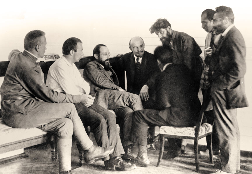 Ленин и делегаты 2 съезда