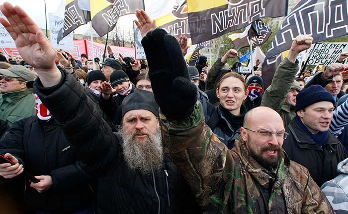 русский марш дпни