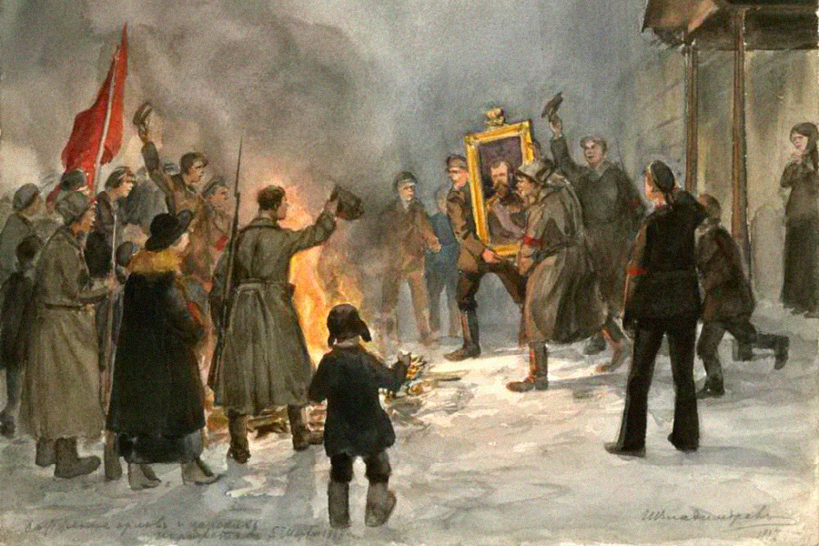 an introduction to the history of the bolshevik revolution in russia in 1917