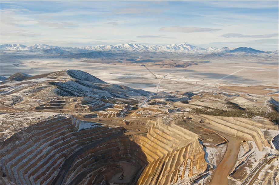 шахта открытого типа