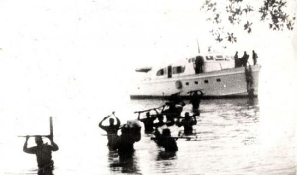 лодка фидель кастро высадился