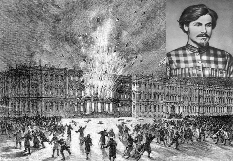 К истории одного знаменитого взрыва
