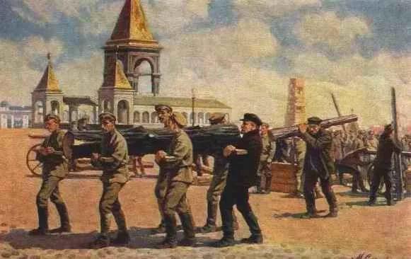 brevno001Н. Сысоев. В.И.Ленин на субботнике..jpg