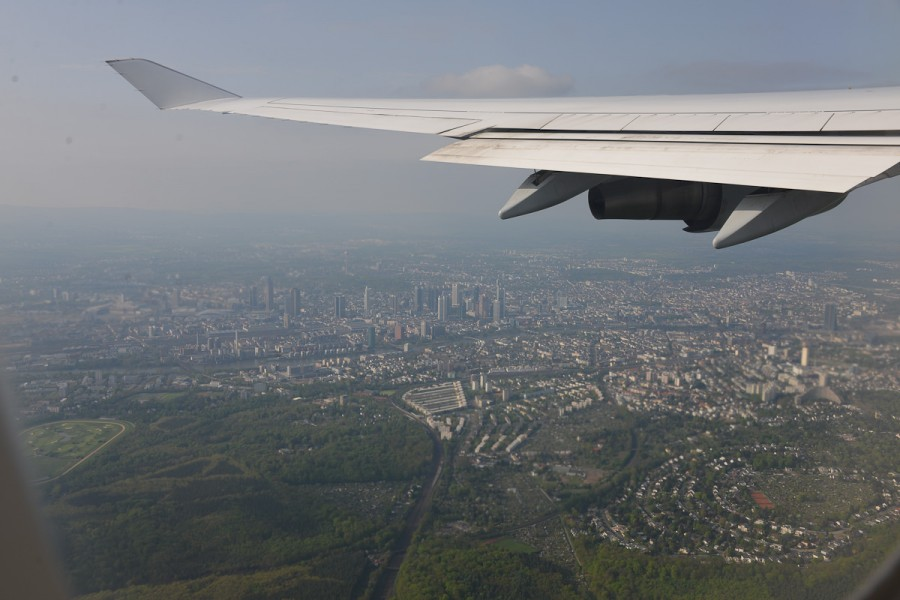 Под крылом Франкфурт