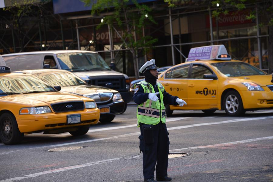 Traffic policman