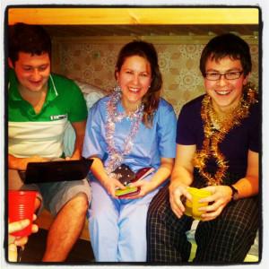 Виталик, Оля, Саша