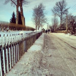 Дорога в Петровское