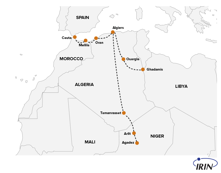 Алжирский подход. 13 тысяч человек отправили в пустыню