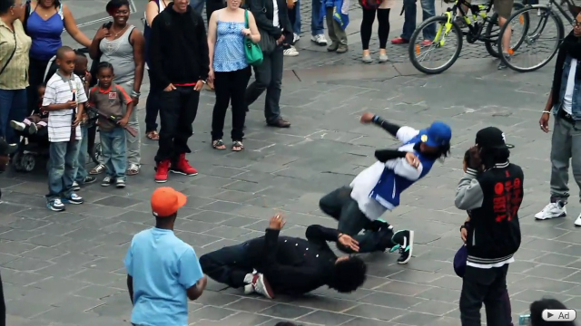 Street battle yak films les twins vs bones pee fly vs laura